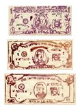 доллары мы стоковое изображение rf