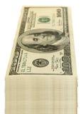 доллары пакета стоковые фото