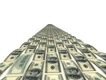 доллары покрасили дорогу Стоковые Фото