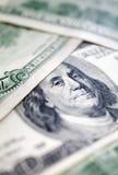 доллары предпосылки 100 одних Стоковое Изображение RF