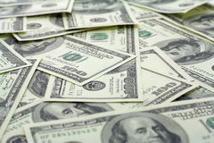 доллары предпосылки Стоковые Фотографии RF