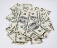 доллары пять тысяч Стоковые Фото