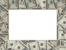 доллары рамки Стоковые Фотографии RF