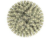 доллары рождества Стоковая Фотография