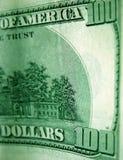 доллары счета 100 одних Стоковое Изображение