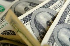 Доллары США наличных денег стоковое изображение