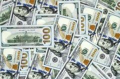 Доллары США, США $ 100, старые и новые 100 изображений доллара, больших изображения доллара в различных концепциях для финансов и Стоковые Изображения