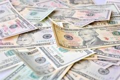 доллары США Стоковое Фото