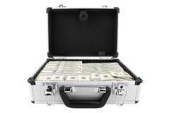 доллары чемодана Стоковые Изображения RF