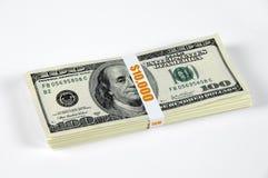 доллары 10 тысяч Стоковые Фото