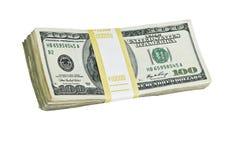 доллары 10 тысяч Стоковое Изображение RF
