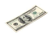 доллары 100 одних Стоковое фото RF
