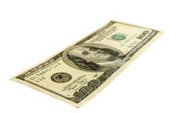 доллары 100 одних стоковое изображение