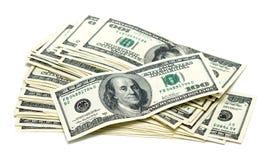 доллары 100 одних Стоковое Изображение RF