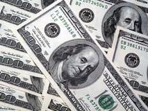 доллары 100 Стоковое Фото