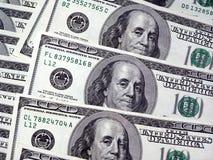 доллары 100 Стоковые Фотографии RF