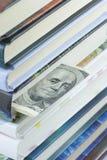 доллары 100 bookmark Стоковое Изображение RF