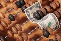 доллары 2 стоковое изображение rf