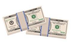 доллары 20 Стоковая Фотография RF