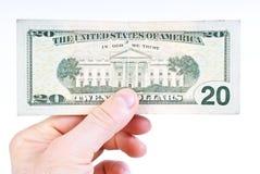 доллары 20 Стоковые Изображения