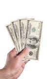 доллары 400 Стоковые Фото
