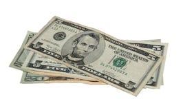 доллары 50 Стоковая Фотография