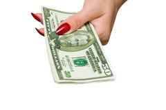 доллары Стоковое Изображение RF