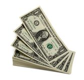 доллары levitating Стоковое Изображение RF