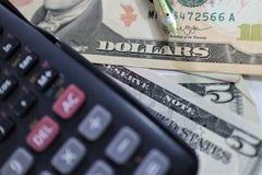 Доллар, валюта, валюта, обмен, калькулятор, финансы, финансовый, креня, экономика, стоковое фото