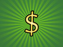 доллар в стиле фанк Стоковое фото RF