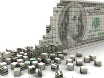 Доллар головоломки бесплатная иллюстрация