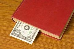 доллар книги счета Стоковые Фото