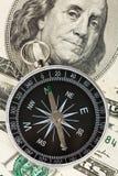 доллар компаса Стоковое Изображение RF