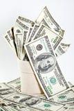 доллар кредиток много sack Стоковое Изображение