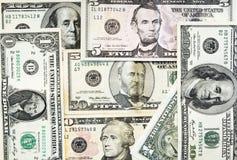 доллар кредиток предпосылки Стоковое фото RF