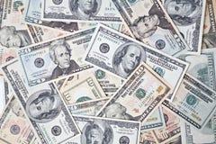 доллар кредиток предпосылки Стоковые Фото