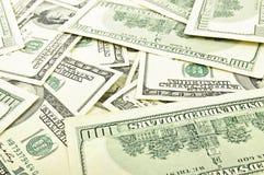 доллар кредиток предпосылки Стоковые Изображения