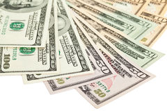 доллар кредиток Стоковое Фото