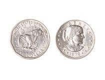 доллар монетки Стоковые Изображения RF