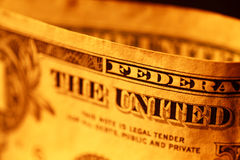 доллар мы Стоковое фото RF