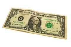 доллар одно кредитки Стоковое фото RF