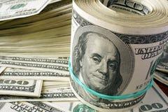 доллар 100 одно кредиток Стоковые Изображения RF