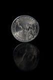 доллар одно монетки Стоковая Фотография RF