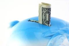 доллар одно сохранил Стоковые Изображения