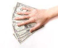 доллар одно Стоковые Фото