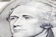 доллар 10 счета Стоковые Фотографии RF