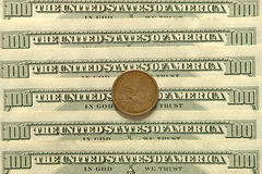 доллар США кредиток Стоковое Фото
