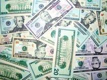 доллар 02 счетов Стоковое фото RF