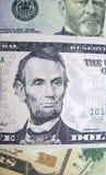 доллар 06 счетов Стоковое Изображение
