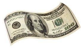 доллар 100 кредитки Стоковая Фотография